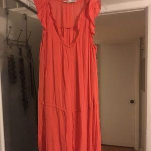 Old Navy M NWT orange dress